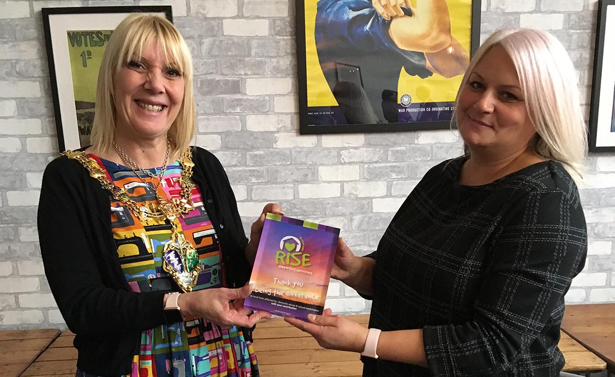 rise award rotherham 2017 Kerry Albiston