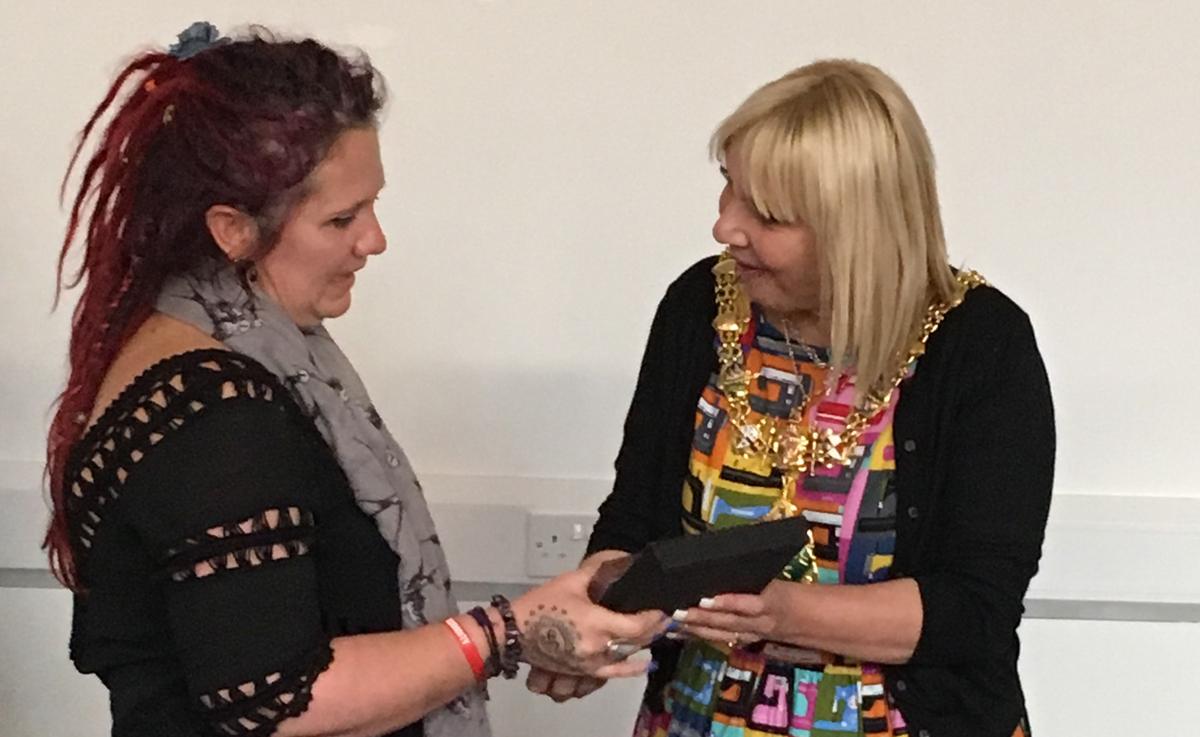 rise award rotherham 2017 Lesley Taylor
